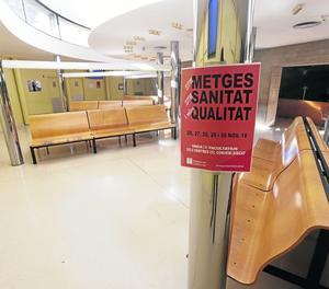 La vaga deixa buits CAP de Lleida i comarques i el Santa Maria.