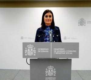 L'exministra de sanitat Carmen Montón.