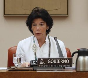 La ministra d'educació i Formació Professional, Isabel Celaá.