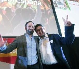 """Abascal (Vox): """"Mai serem un obstacle per a una majoria alternativa"""""""