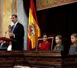 Felip VI diu que el seu pare va impulsar la democràcia