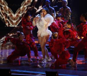 La cantant catalana, als anteriors Grammy Llatins, a Las Vegas.