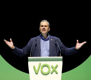 El secretari general de Vox, Javier Ortega Smith.