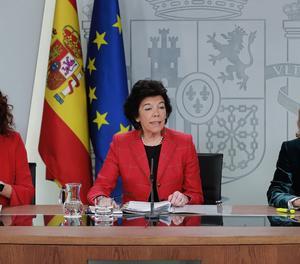 Presentació del projecte dels pressupostos generals de l'Estat.