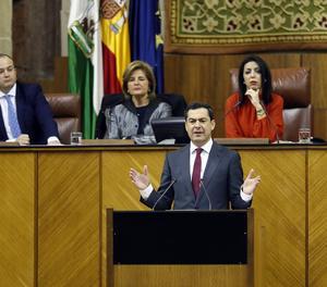 Juanma Moreno, investit president de la Junta d'Andalusia