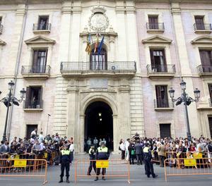 L'edifici del Tribunal Superior de Justícia de València.