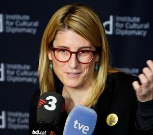 La consellera de Presidència, Elsa Artadi,
