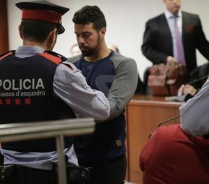 Ismael Rodríguez, després d'escoltar el veredicte del jurat popular.