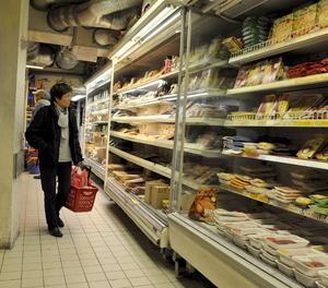 Imatge d'arxiu d'un supermercat.