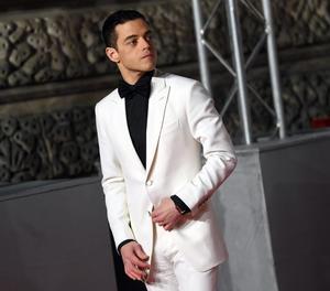 L'actor Rami Malek, ahir a la gala dels premis Bafta.