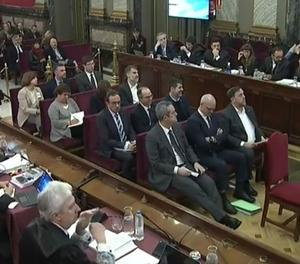 Comença el judici del 'procés' al Tribunal Suprem