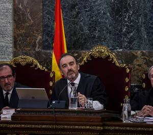 El jutge Marchena obre el torn dels testimonis demanant que no opinin