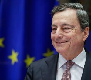 El president del Banc Central Europeu, Mario Draghi.