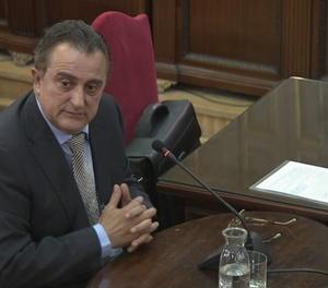 El cap d'Informació dels Mossos l'1-O, Manuel Castellví