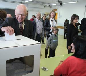 Votació del 9N a Lleida