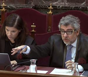 L'advocat Jordi Pina, que defensa Jordi Turull, Jordi Sànchez i Josep Rull.