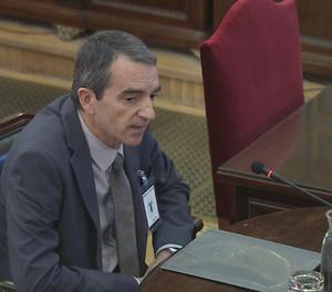 El comissari dels Mossos d'Esquadra Joan Carles Molinero.