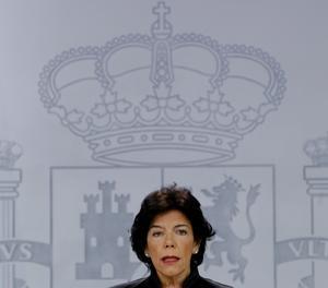 La portaveu del Govern espanyol, Isabel Celaá.