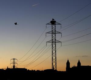 Una torre elèctrica.
