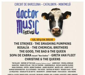 El cartell definitiu del Doctor Music Festival