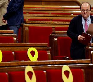 El Constitucional admet a tràmit el recurs d'Iceta després del veto independentista