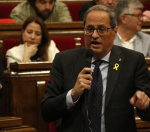 El president de la Generalitat, Quim Torra, aquest