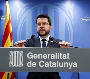 El vicepresident del Govern i conseller d'Economia de la Generalitat, Pere Aragonès.