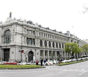 L'edifici de la seu del Banc d'Espanya.