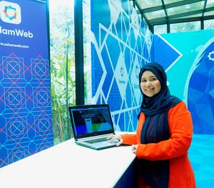 Hajjah Hasni Zarina, directora general de la companyia SalamWeb Technologies.