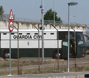 Els presos independentistes surten de Valdemoro i dormiran a Zuera, a Saragossa