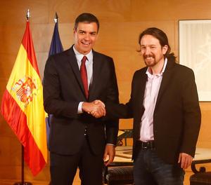 Sánchez culpa Iglesias de trencar la negociació amb la consulta de Podemos