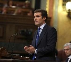 Casado retreu a Sánchez no dir res i eludir Podemos i independentistes