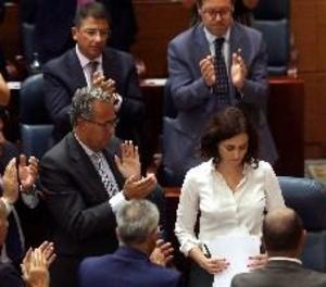 Díaz Ayuso, investida presidenta de Madrid
