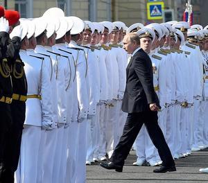 Putin va complir divendres vint anys al capdavant de la presidència de la federació russa.