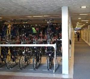 Així és l'aparcament de bicicletes més gran del món