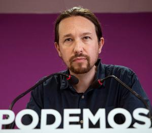 El secretari general de Podemos, Pablo Iglesias