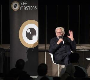 L'actor, en una intervenció l'any passat al Festival de Zuric.