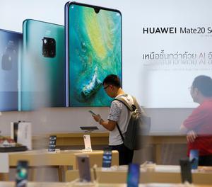 Un client de Huawei.