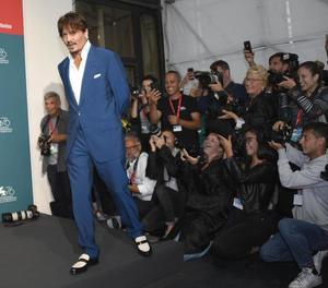 Màxima expectació mediàtica ahir a la Mostra de Venècia amb la presència de Johnny Depp.