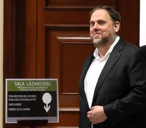El diputat electe Oriol Junqueras.