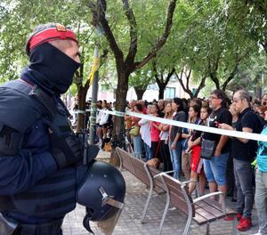 Una concentració a Sabadell aquest dilluns contra la detenció dels membres dels CDR.