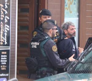 Un dels membres dels CDR detingut a Sabadell.