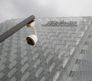 La seu de Telefónica a Madrid.
