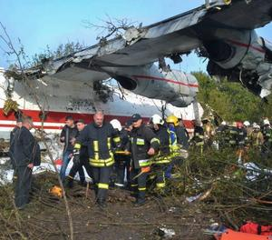 Cinc morts després de l'aterratge forçós a Ucraïna d'un avió procedent d'Espanya