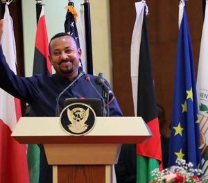 El primer ministre etíop Abiy Ahmed