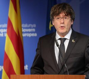 L'expresident de la Generalitat Carles Puigdemont.
