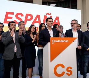 Albert Rivera dimiteix com a president de Cs després de la desfeta electoral del 10N