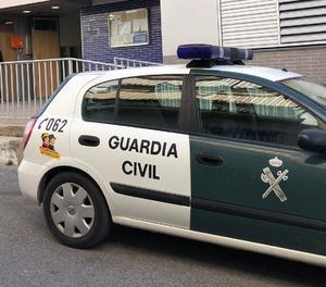Imatge d'arxiu d'un vehicle de la Guàrdia Civil.