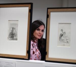 La reina Letícia va inaugurar ahir la mostra al Prado.