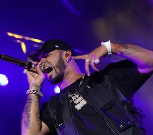 El raper porto-riqueny Anuel AA, líder a Spotify a Espanya.